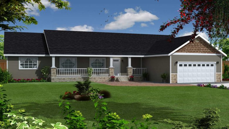 New Castle 3 Bedroom One Story Home