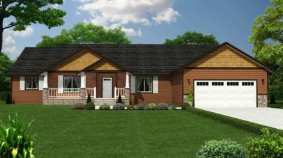 Mill Creek 3 Bedroom One Story Home