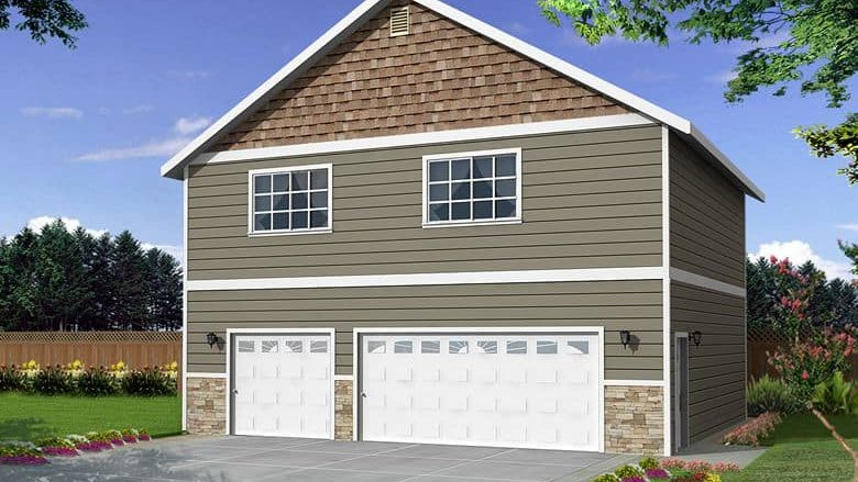 34 x 30 sq. ft. 2 Story Garage