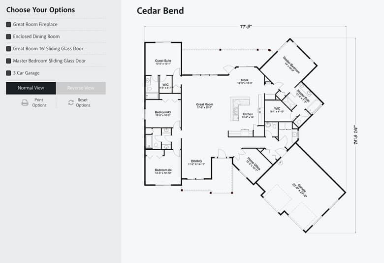 Floor Plan without Customizations