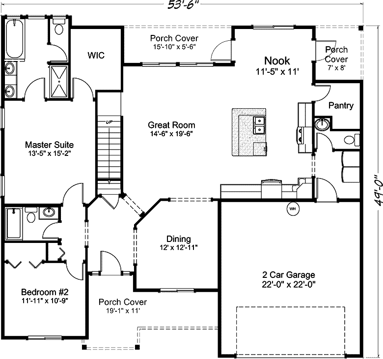 2530 Kayak Point - Floor Plan - Main